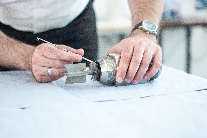 Reparatur einer Durchflussturbine - TrigasDM