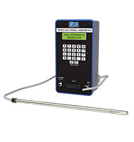 kurz-2445-tragbares Luftgeschwindigkeit-Messgerät TrigasDM