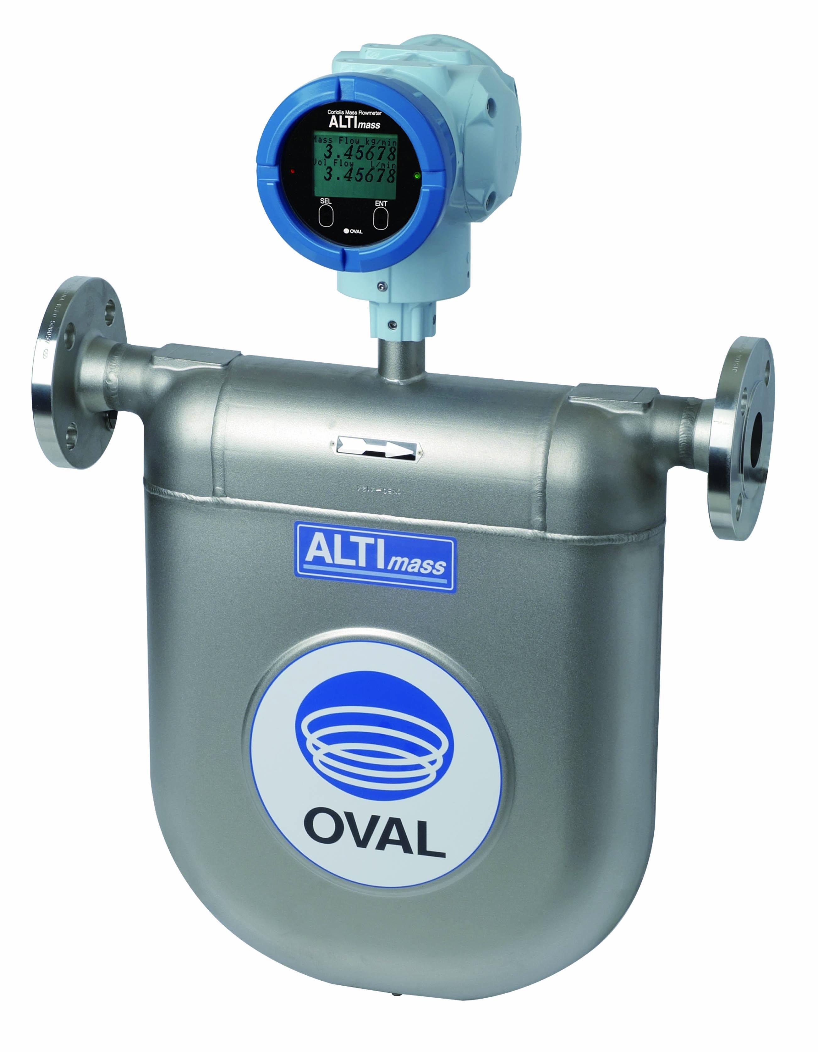 robuster Coriolis Altimass U-Sensor Durchflusssmesser TrigasDM